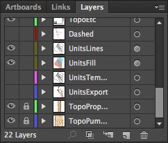 Layers allow you to organize the different components of your work with ease.