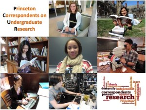 Farewell for the summer from the Princeton Correspondents on Undergraduate Research!