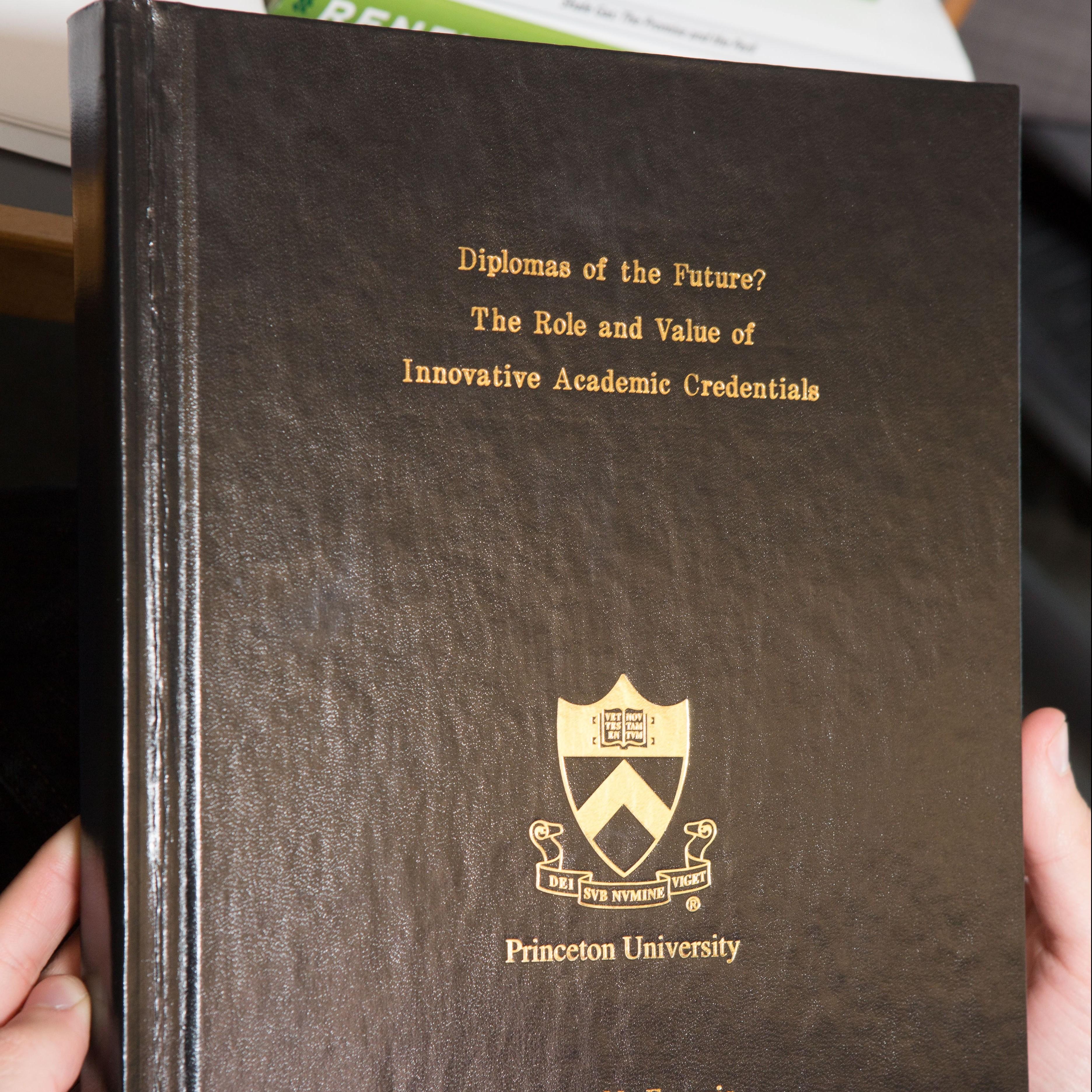 princeton psychology thesis