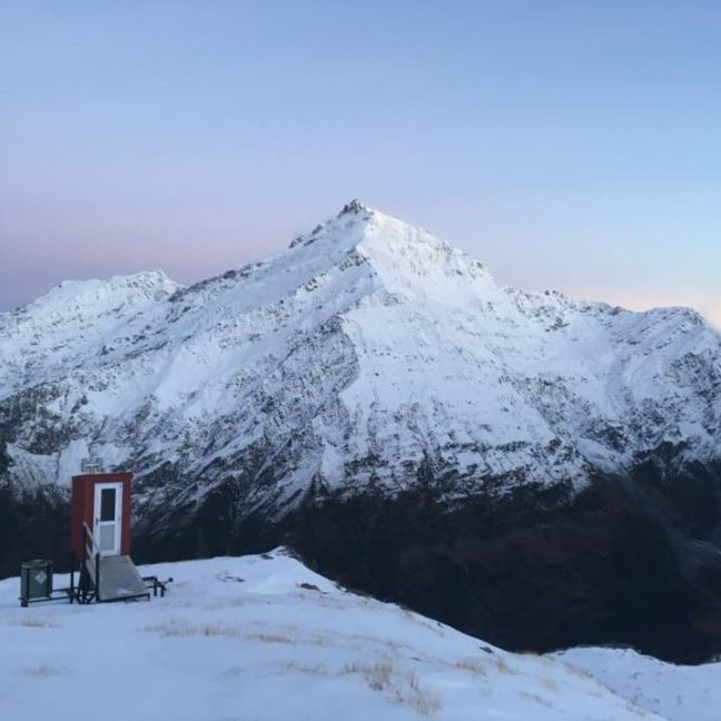 My favorite hike in NZ-- French Ridge Hut in Mt. Aspiring National Park!