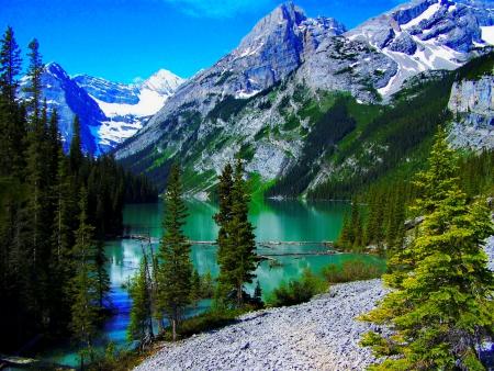 Foto Hd per sfondi desktop con immagini di montagne neve