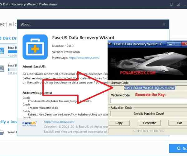 EaseUS Data Recovery Wizard Cracked 2021