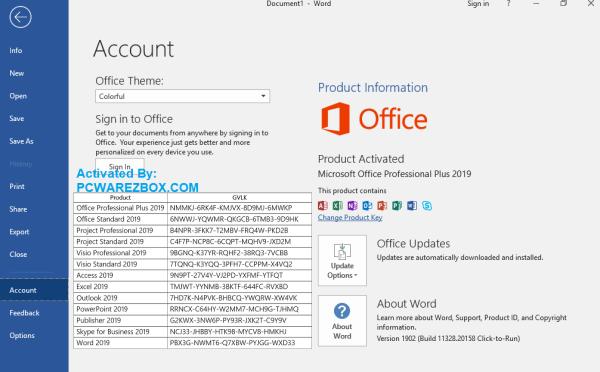 Microsoft Office 2020 cracked