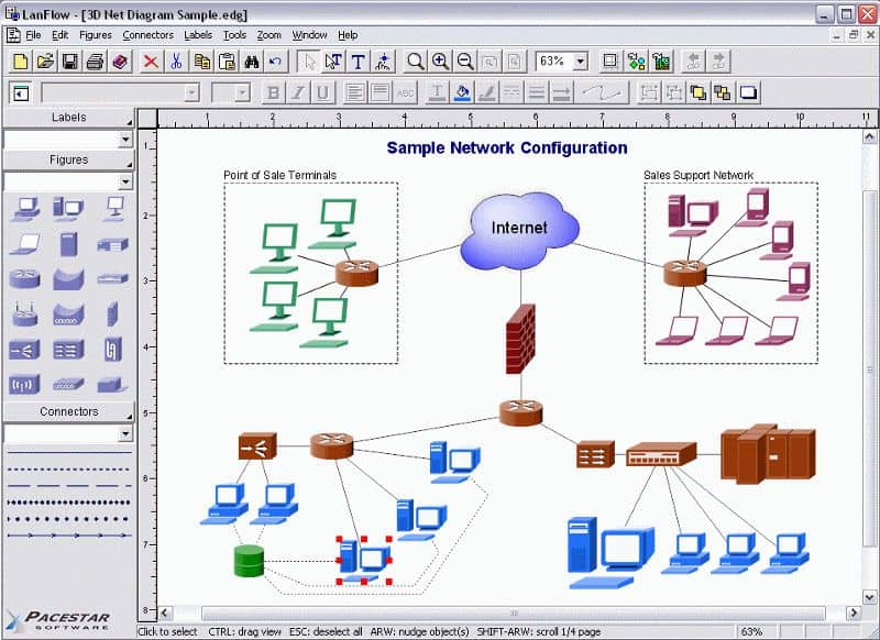 best tool to draw diagrams shenzhen stock exchange diagram top 10 network topology mapping software pc lanflow