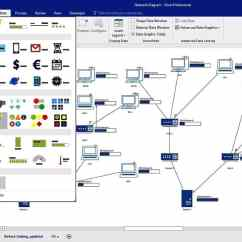 Microsoft Infrastructure Diagram Goodman Furnace Parts Top 10 Network Topology Mapping Software Pc Visio Diagraming Lan Wan