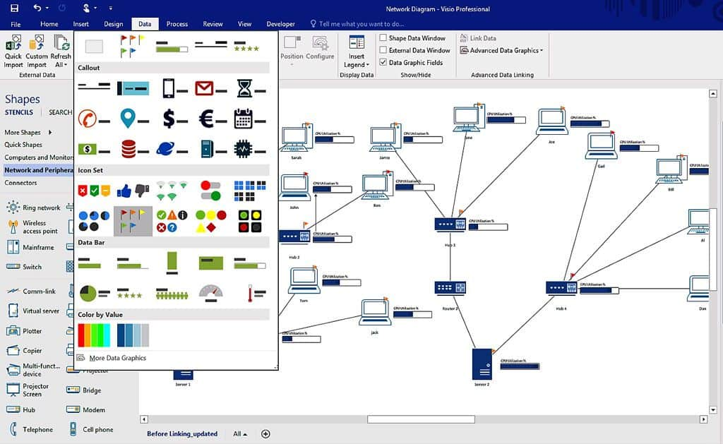 high level network topology diagram rb25 neo colour wiring top 10 mapping software pc microsoft visio diagraming lan wan