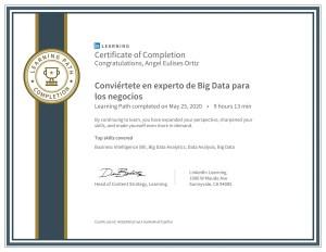 Certificado-Conviértete en experto de Big Data para los negocios