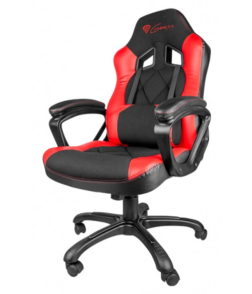 chair with speakers gaming corner chairs for sale genesis nitro 330 black & red | pcwise malta - computer shop repair centre in mosta