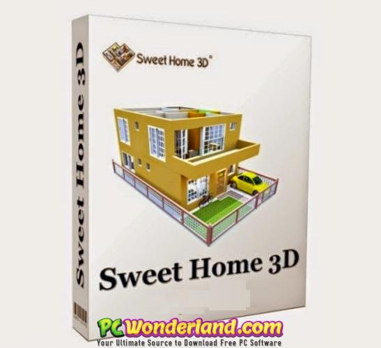 Sweet home 3d is a free architectural design software that helps users create a 2d plan of a. Sweet Home 3d 6 0 Portable And 5 7 Macos Free Download Pc Wonderland