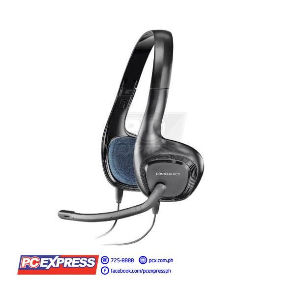 Plantronics Audio 628 W Mic Usb Headset Pc Express
