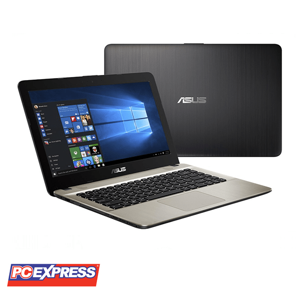 ASUS X441NA-GA010T PQC N4200 WINDOWS 10 BLACK LAPTOP