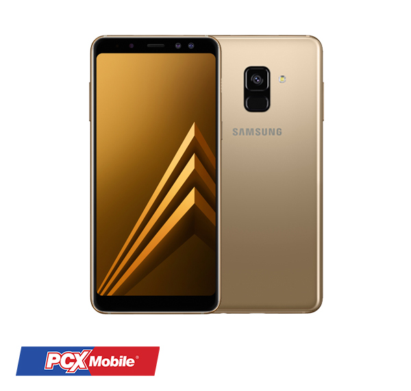 SAMSUNG GALAXY A8 PLUS (2018) GOLD