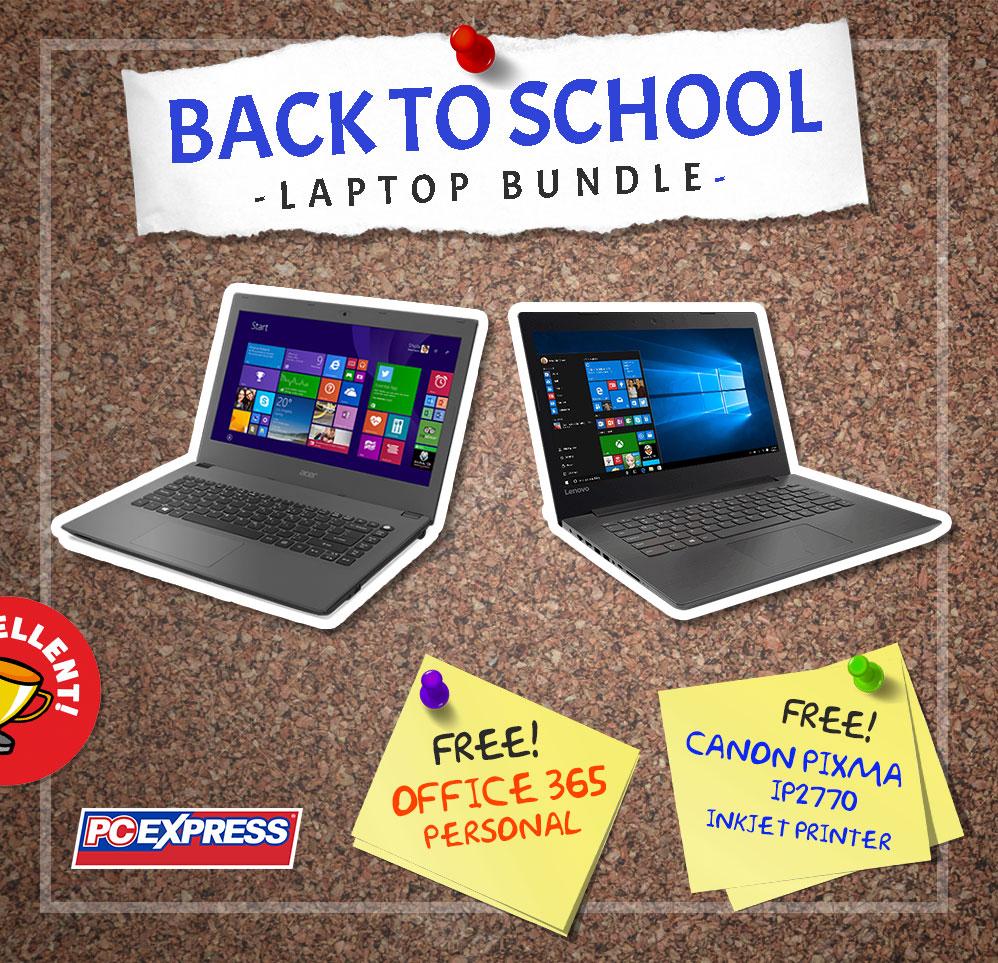 Back to School Bundle Promo