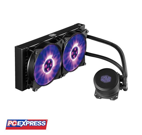 Cooler Master MasterLiquid ML240L RGB MLW-D24M-A20PC-R1 CPU Liquid Cooler