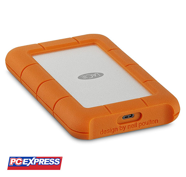 LaCie Rugged 1TB USB-C and USB 3.0