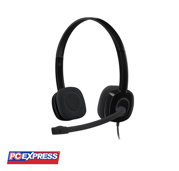 Logitech H151 Black Stereo Headset
