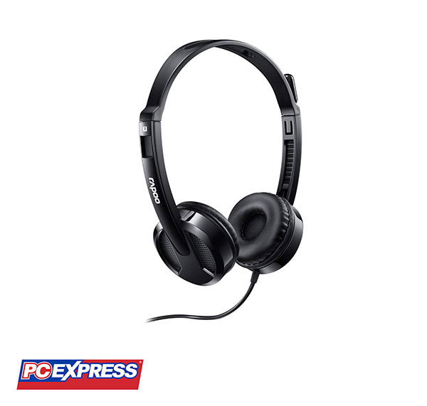 Rapoo H100 Black Stereo Headset