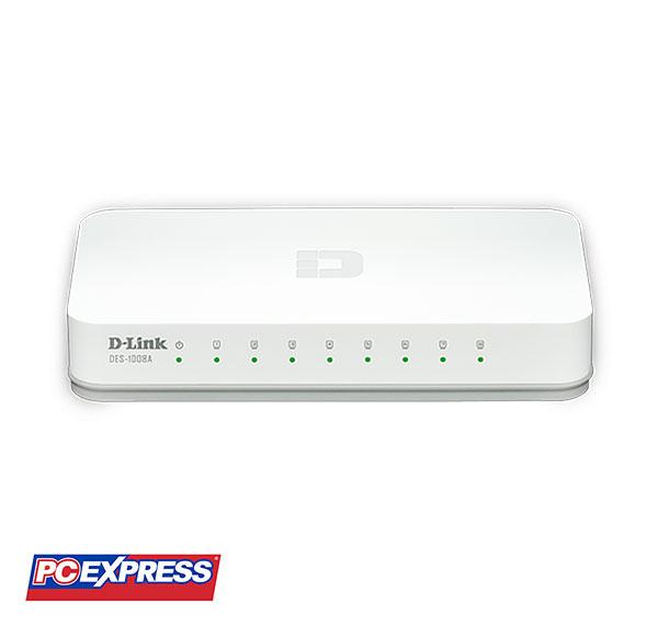 D-Link 8 Port Switch DES-1008A