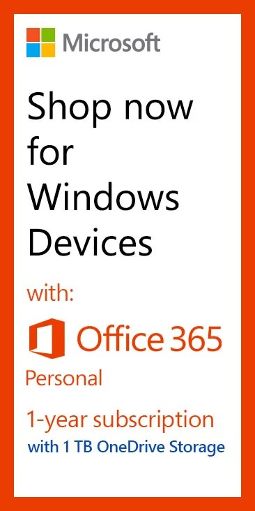 Laptops with Office 365