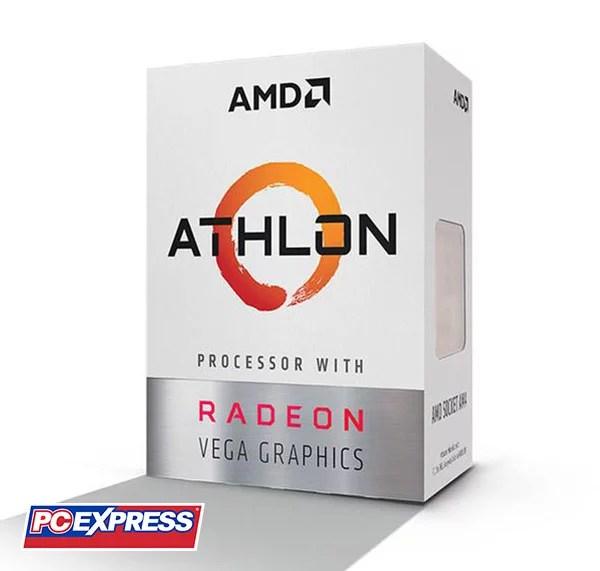 Amd Athlon 200ge Processor With Radeon Vega 3 Graphics Pc Express