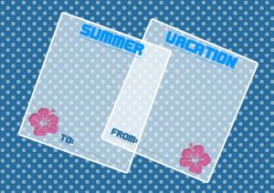 夏メッセージカード3