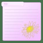 向日葵のカード5