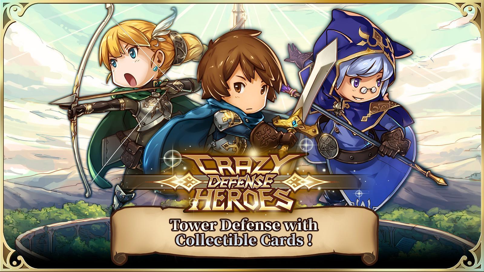 Crazy Defense Heroes: Tower Defense Strategy TD скачать 1.0.0 APK на Android