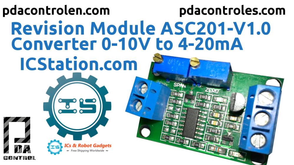 medium resolution of testing module asc201 v1 0 gosling converter 0 10v to 4 20ma from icstation
