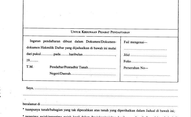 Contoh Borang 16a Cuitan Dokter