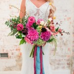 121175 Colourful Modern Tropical Wedding Ideas By Wolf And Wildflower Photography Image Polka Dot Wedding Formerly Polka Dot Bride