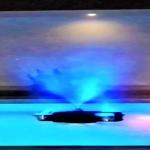 Fuente de Agua Flotante Pulverización