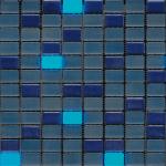 Mix Iris Azul Con Luminicente Efecto