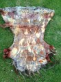 Contact dyeing, eco print, contact printing, natural dyes