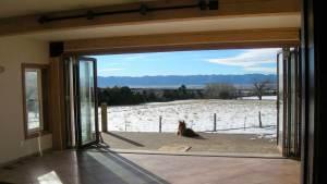 Folding Door, Colorado Home