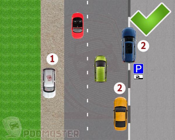 Разрешается ли ставить автомобиль на противоположной стороне дороги перед пешеходным переходом