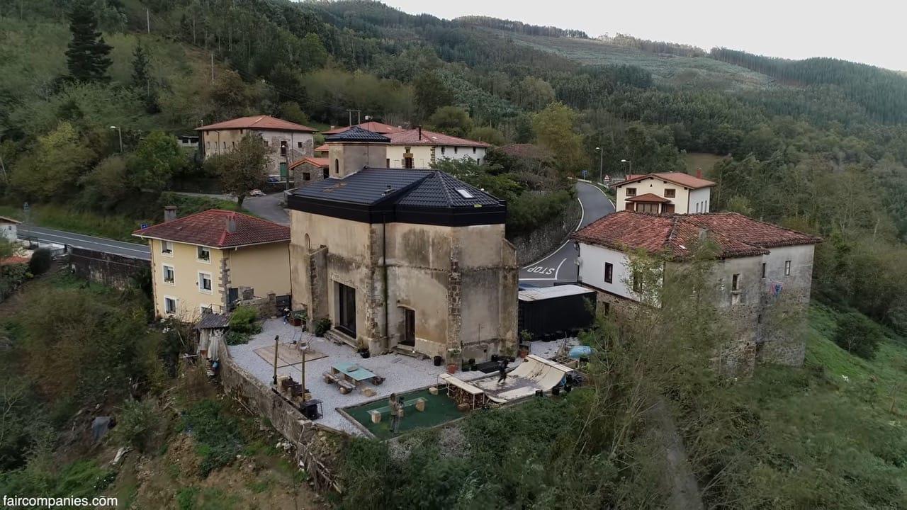 Ancient church becomes unique home-studio for Basque artist
