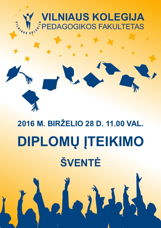 Diplomų įteikimo šventė 160621