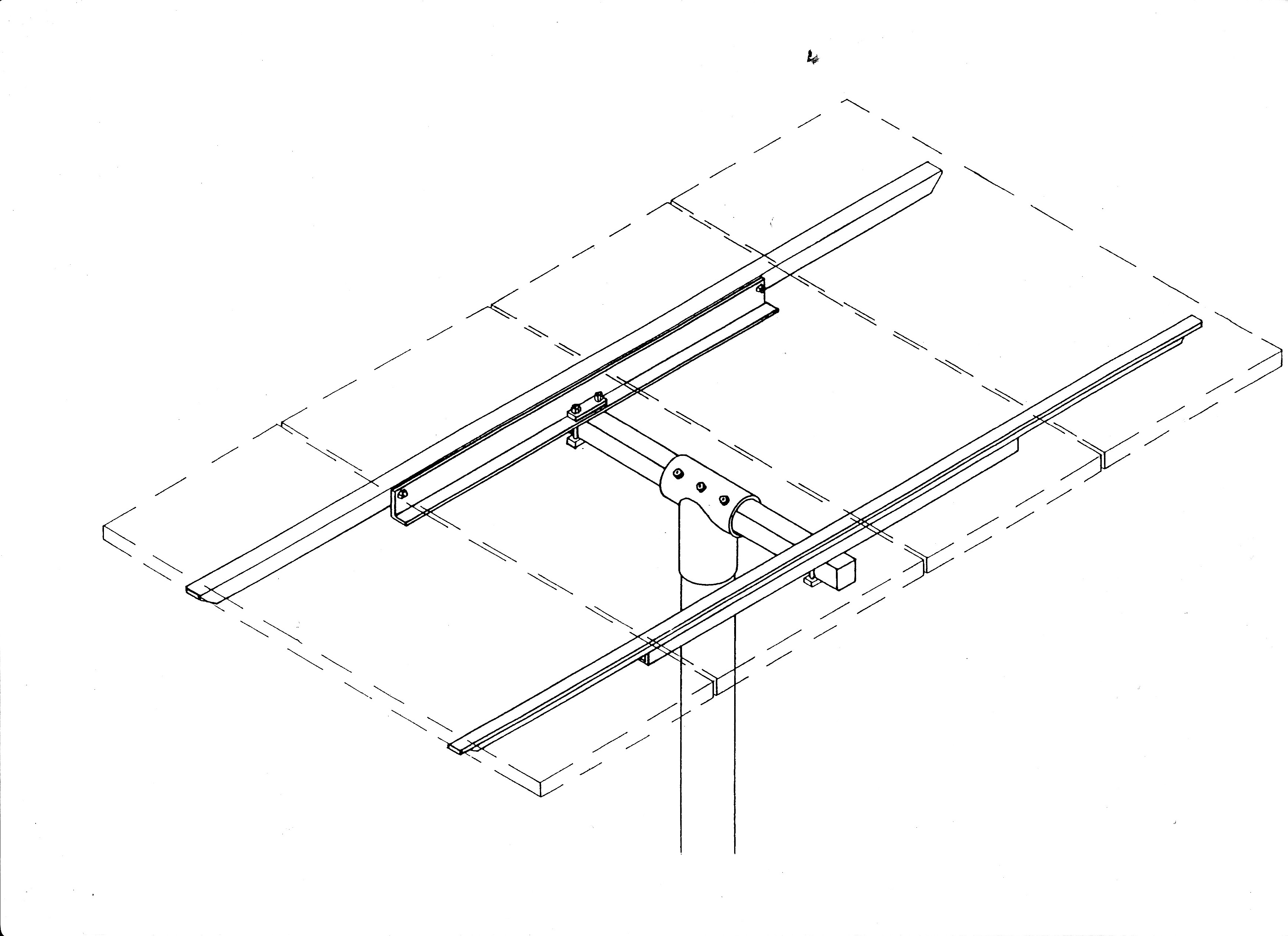 General Specialties UPM 3X Pole Mount (for Panel Sizes: A