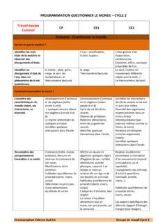 Programmation Questionner Le Monde Ce1 : programmation, questionner, monde, PROGRAMMATION, QUESTIONNER, MONDE, CYCLE, Programmation-questionner-le-, Monde-cycle-2.pdf, PDF4PRO