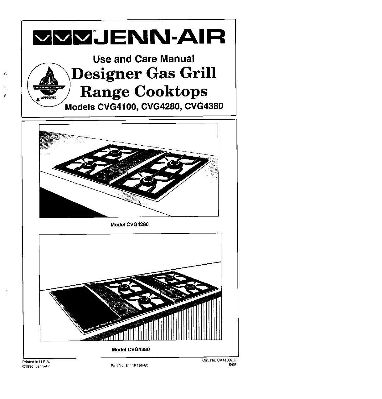 Jenn Air Cooktop 0vg User Guide