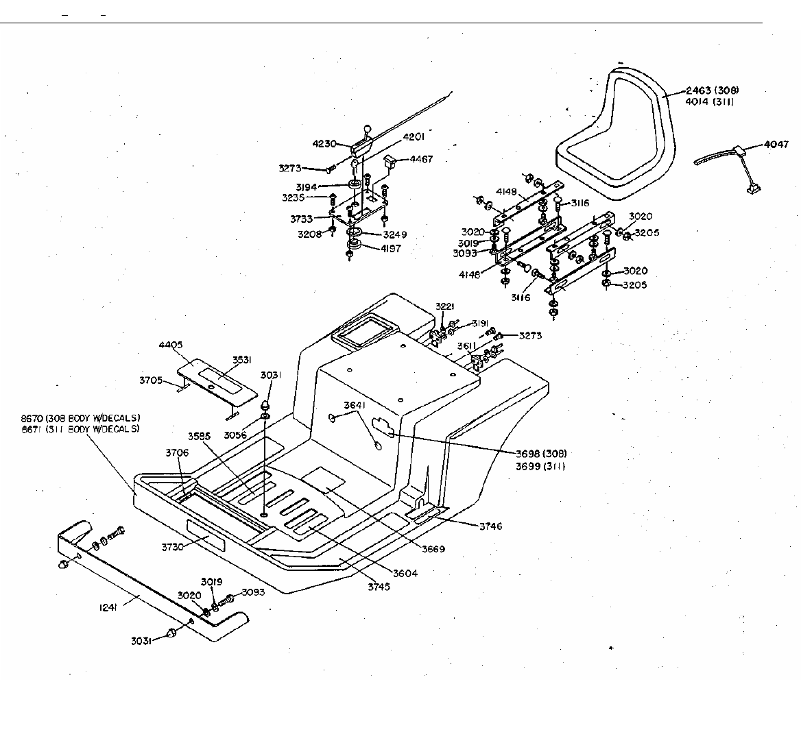 Page 4 of Dixon Lawn Mower ZTR 311 User Guide