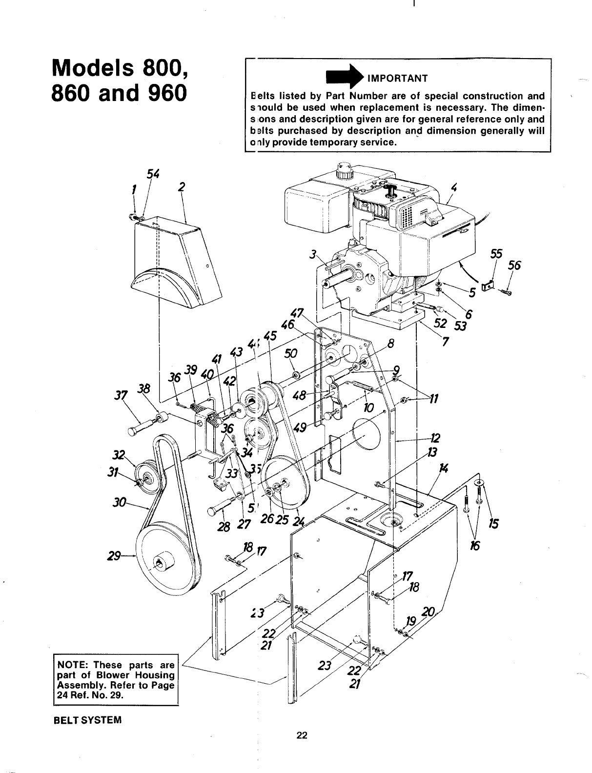 Page 22 of MTD Snow Blower 315-800-000 User Guide