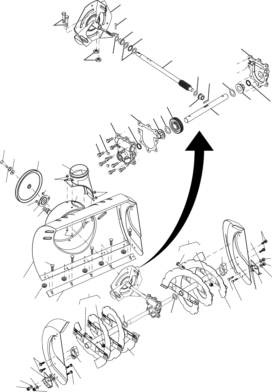Page 20 of Husqvarna Snow Blower 1027STE User Guide