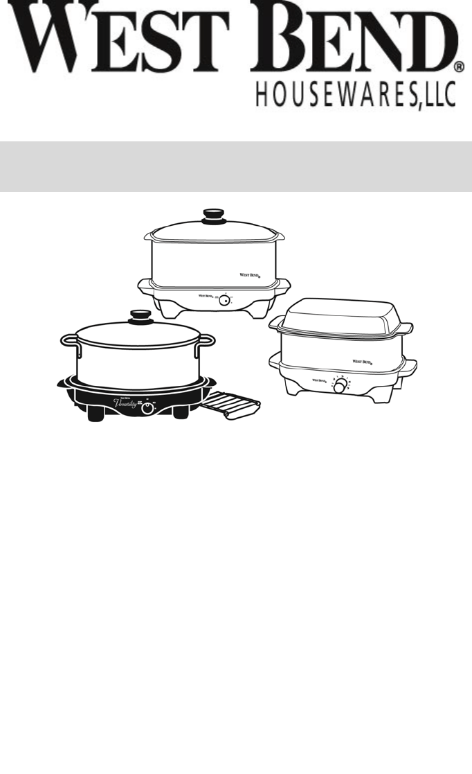 Breville Slow Cooker Instruction Manual