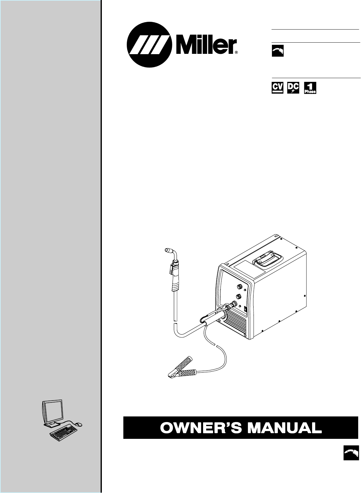 Miller Electric Welding System 180 User Guide