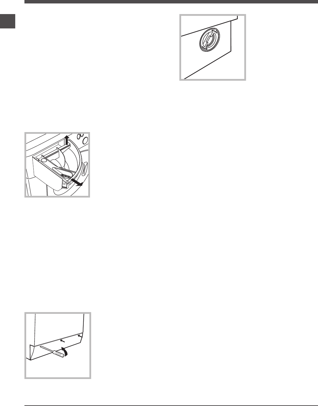 Page 6 of Hotpoint Washer HY6F3551 User Guide