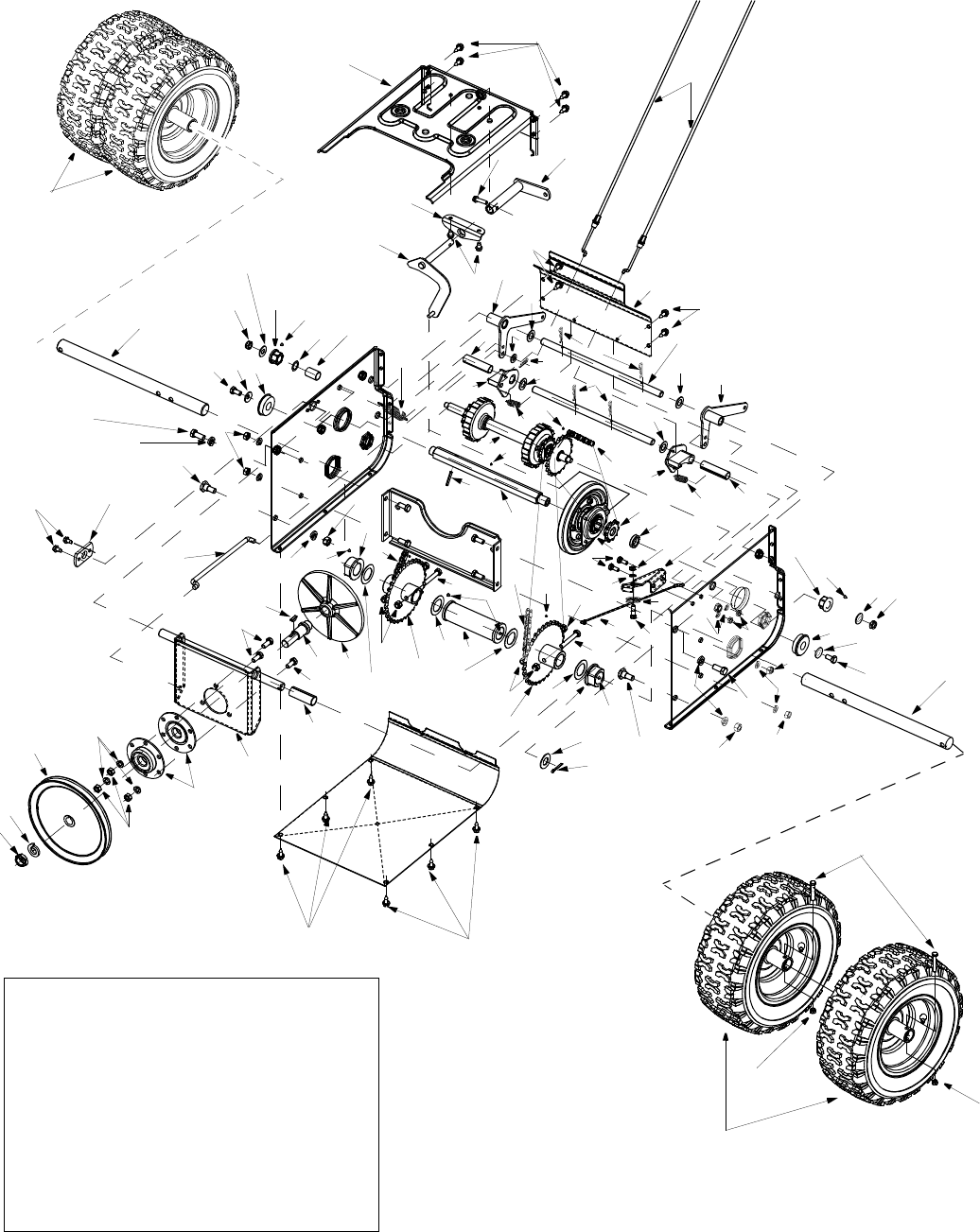 Page 22 of Cub Cadet Snow Blower 1345 SWE User Guide