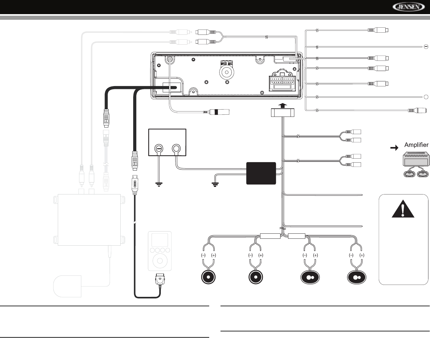 Page 7 of Jensen Car Video System VM8013 User Guide