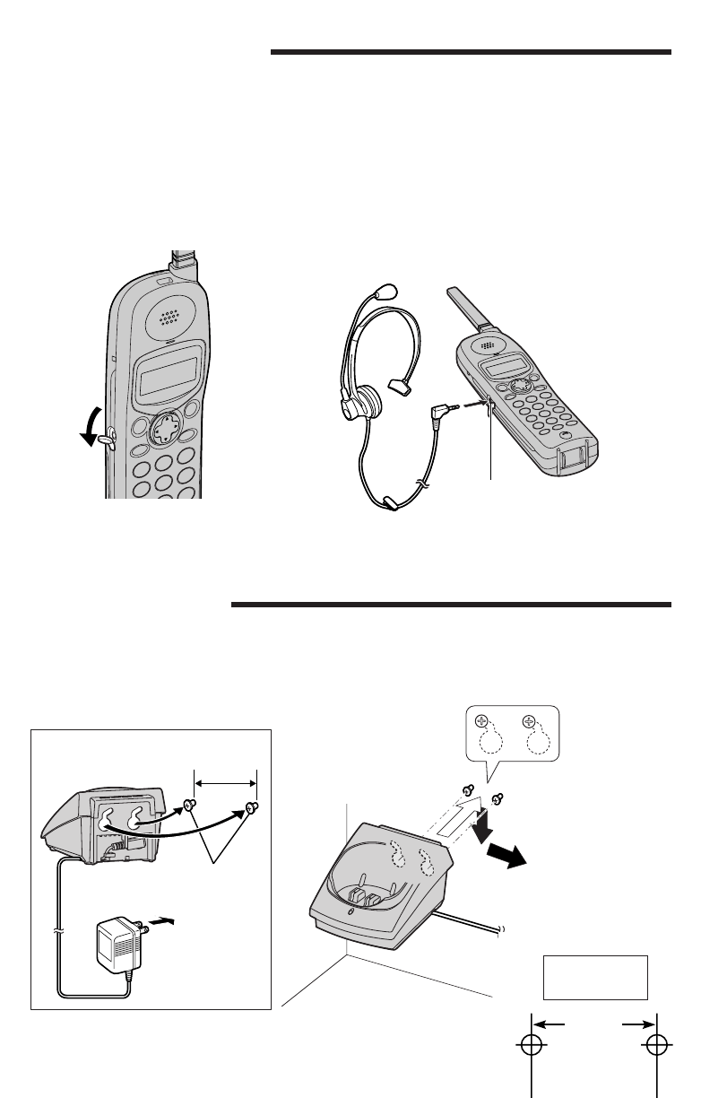Page 4 of Panasonic Telephone 391 User Guide