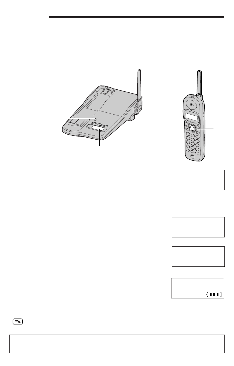 Page 9 of Panasonic Telephone 391 User Guide